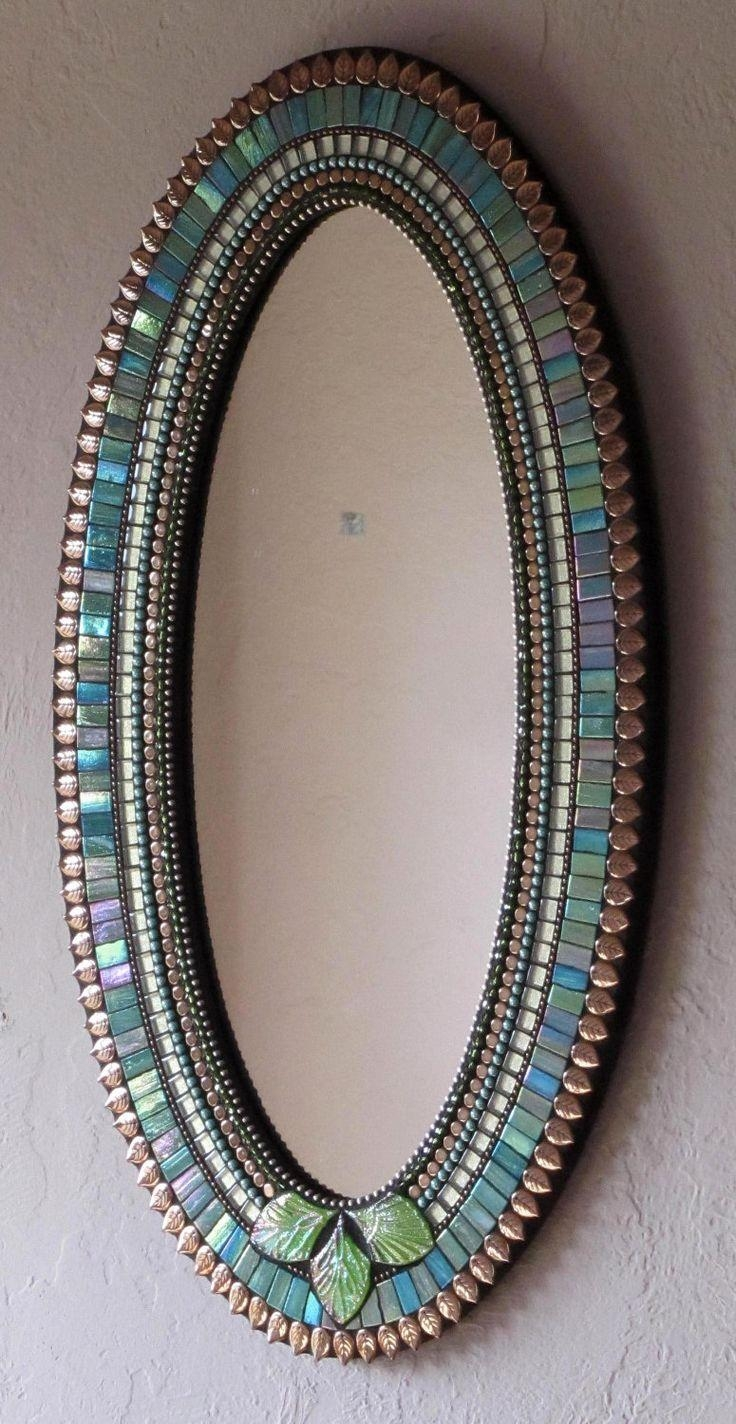 Top 25+ Best Mosaic Mirrors Ideas On Pinterest | Mosaic, Mosaic With Regard To Large Mosaic Mirror (View 5 of 20)