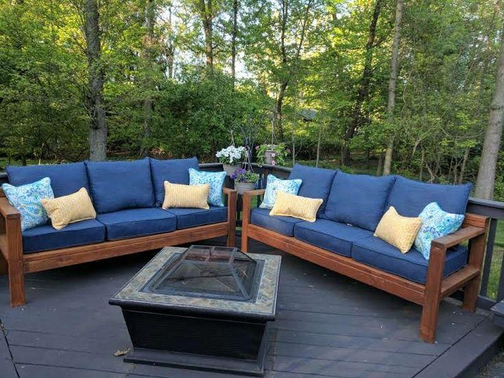 Top 25+ Best Outdoor Couch Ideas On Pinterest | Outdoor Couch Pertaining To Ana White Outdoor Sofas (Image 20 of 20)