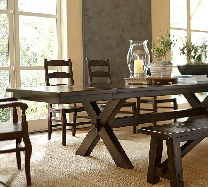 Toscana Bench | Pottery Barn With Toscana Dining Tables (Image 6 of 20)