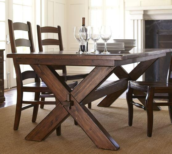 Toscana Extending Dining Table + Wynn Chair Set | Pottery Barn Throughout Toscana Dining Tables (Image 8 of 20)
