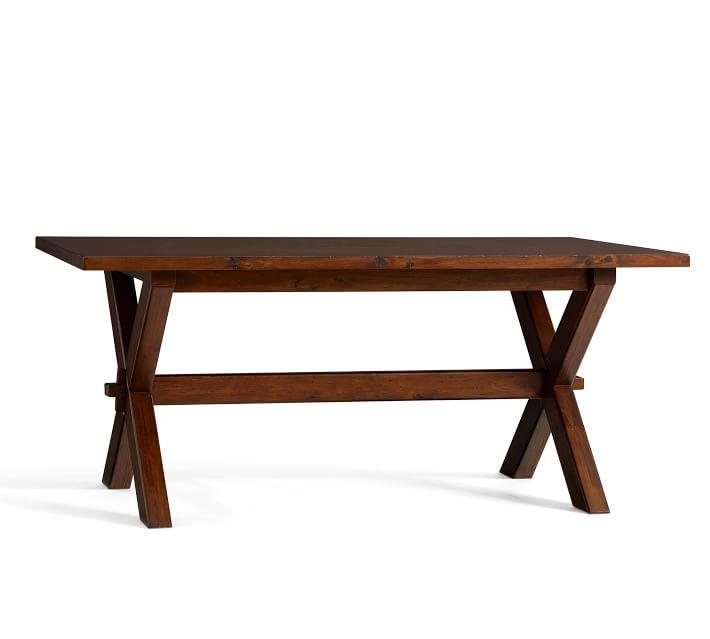 Toscana Fixed Dining Table | Pottery Barn In Toscana Dining Tables (Image 18 of 20)