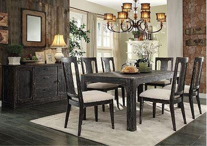Town & Country Furniture Serving Asheville, Nc Offers Name Brands Intended For Bellagio Dining Tables (Image 19 of 20)