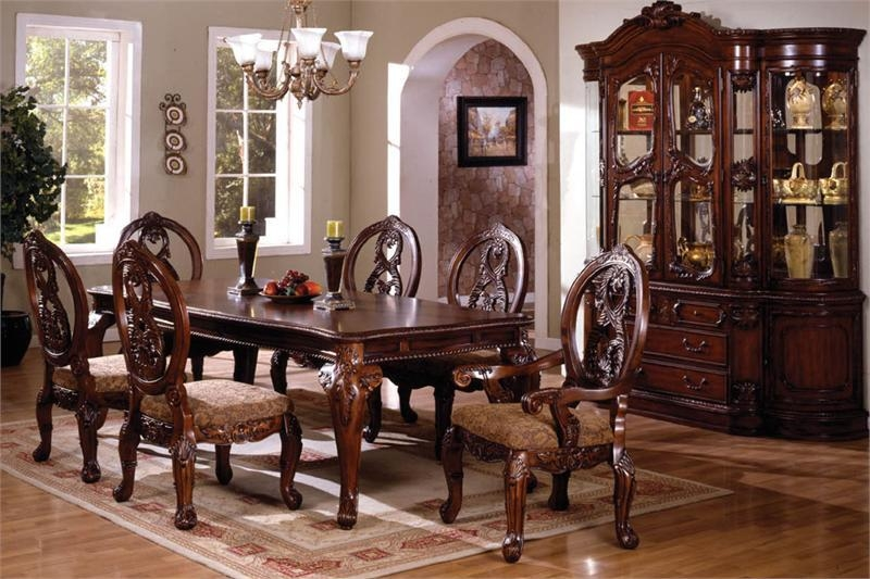 Traditional Dining Room Tables | Gen4Congress With Regard To Traditional Dining Tables (Image 14 of 20)