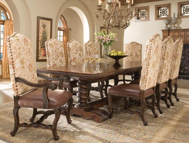 Traditional Dining Room Tables Inside Traditional Dining Tables (Image 15 of 20)