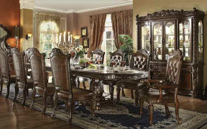 Traditional Dining Table Allesia Ac 20 | Classic Dining Intended For Traditional Dining Tables (Image 16 of 20)