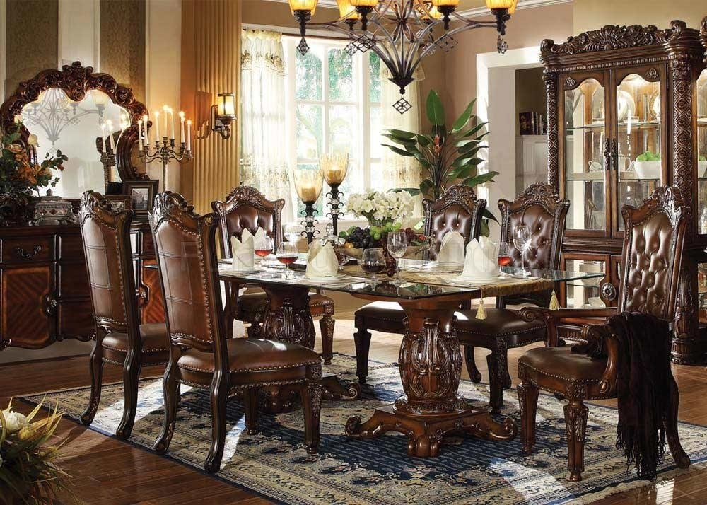 Traditional Dining Table Allesia Ac 20 | Classic Dining With Traditional Dining Tables (Image 17 of 20)