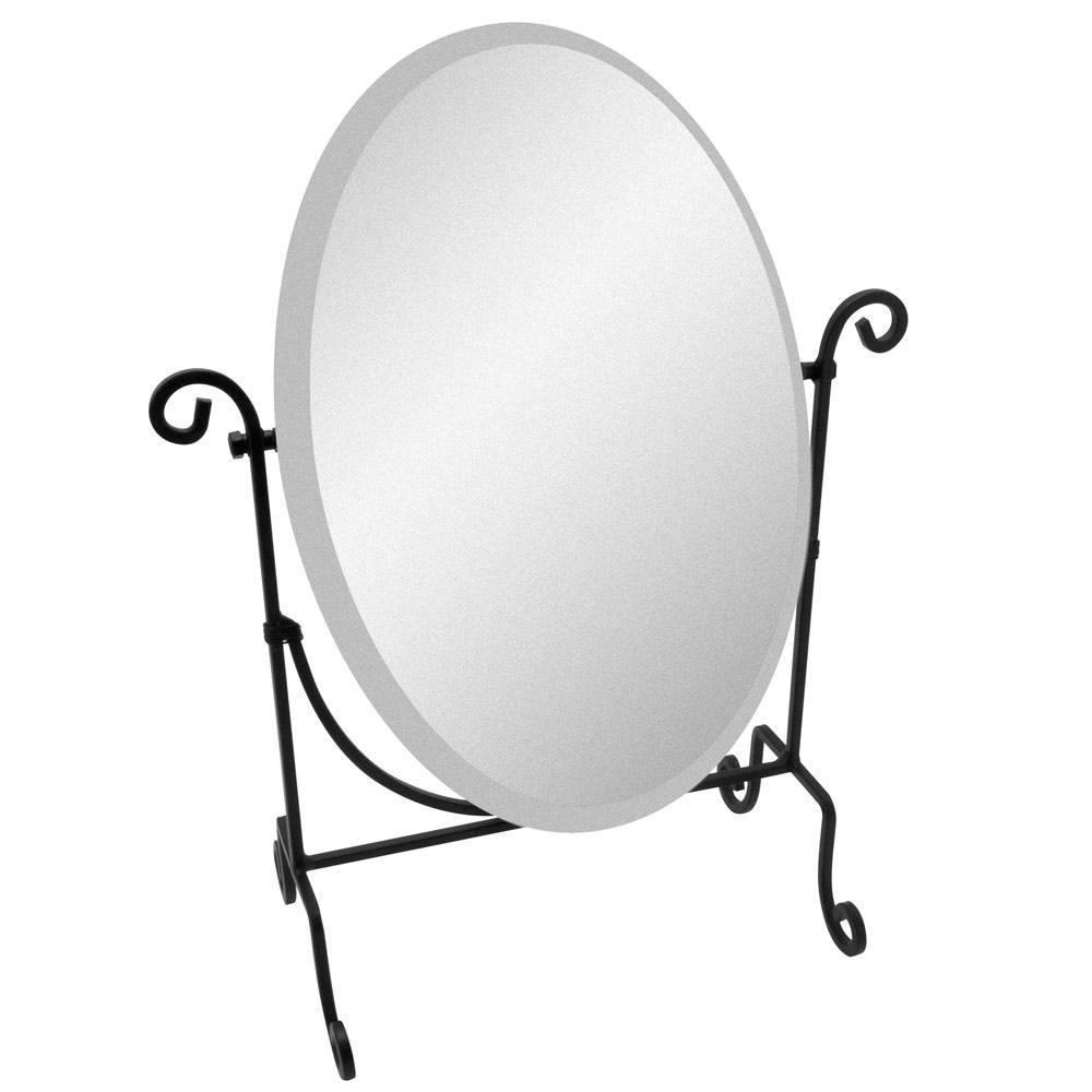 Travel Folding Mirror | Portable Mirrors | Display Mirrors Pertaining To Wrought Iron Standing Mirror (Image 11 of 20)