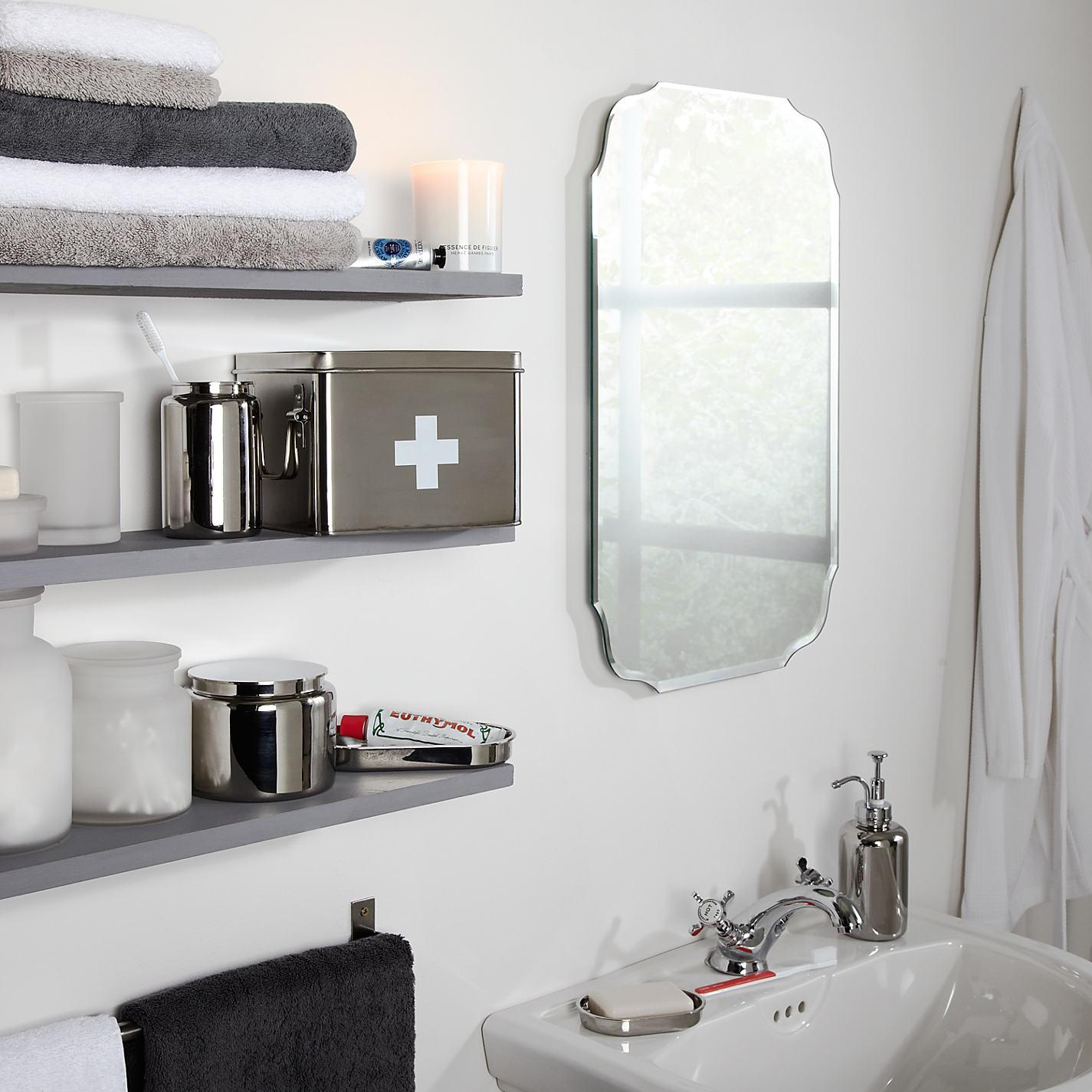 Tremendous Old Fashioned Bathroom Mirrors Buy John Lewis Vintage Inside Retro Wall Mirrors (Image 17 of 20)