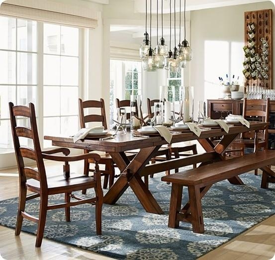 Trestle Dining Table For $300 Within Toscana Dining Tables (Image 19 of 20)