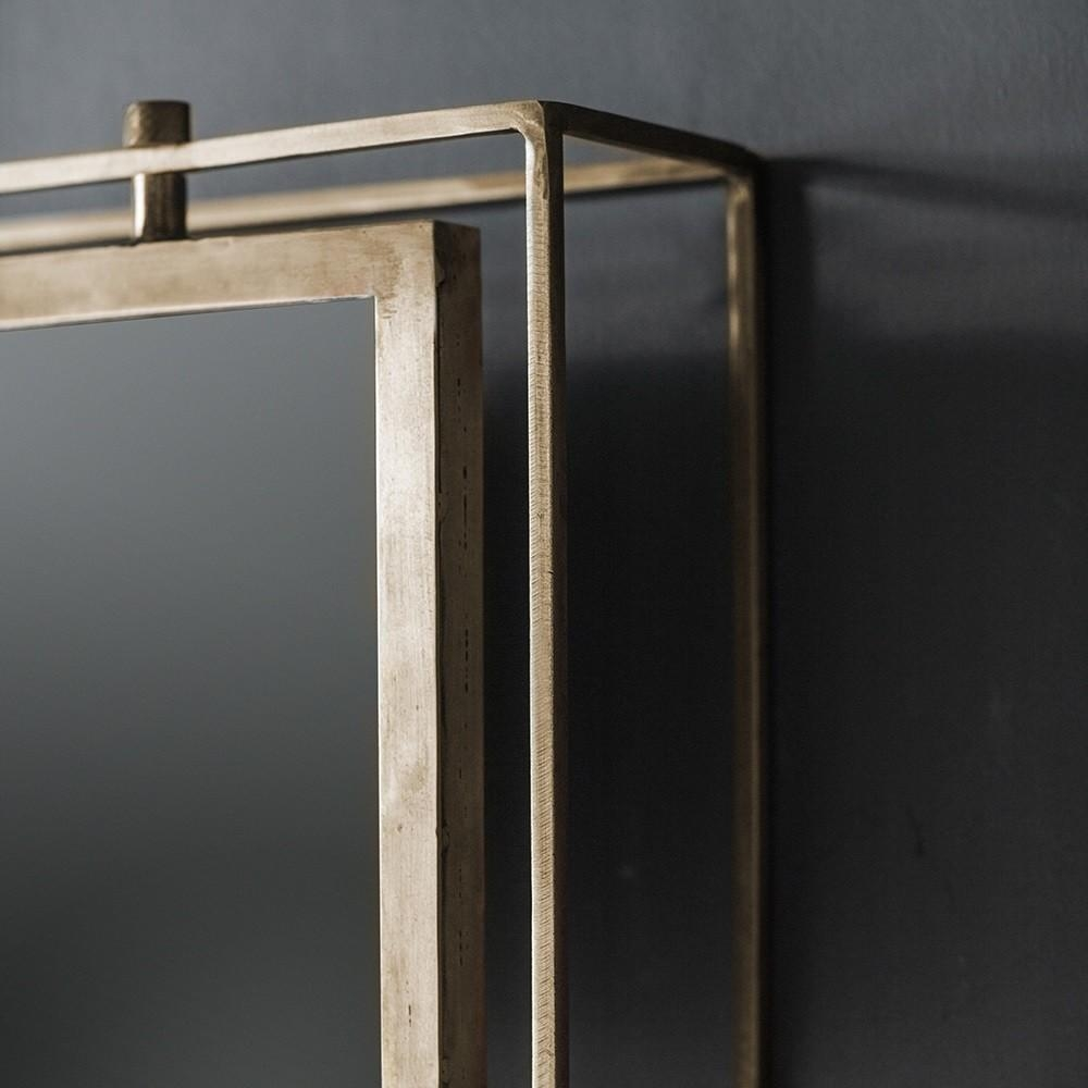 Tribeca Triple Wall Mirror – Antique Brass Regarding Triple Wall Mirror (Image 17 of 20)