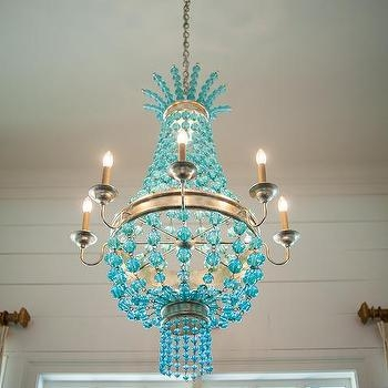 Turquoise Blue Chandelier Design Ideas In Turquoise Blue Chandeliers (Image 20 of 25)