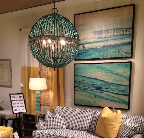 Featured Image of Turquoise Orb Chandeliers