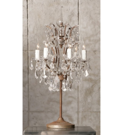 25 Best Faux Crystal Chandelier Table Lamps Chandelier Ideas
