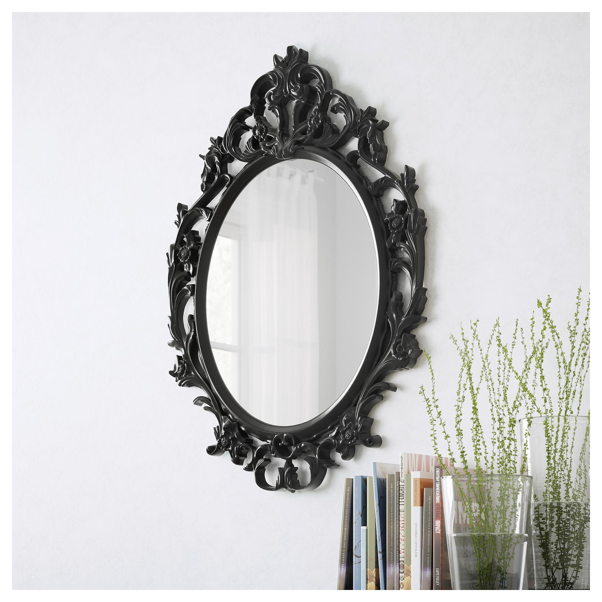 Ung Drill Mirror – Ikea Within Baroque Black Mirror (Photo 12 of 20)