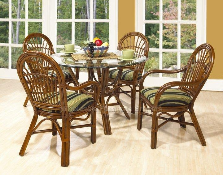 Unique Quality Rattan Dining Set – Rattan Creativity And Headboard Within Rattan Dining Tables (Photo 17 of 20)