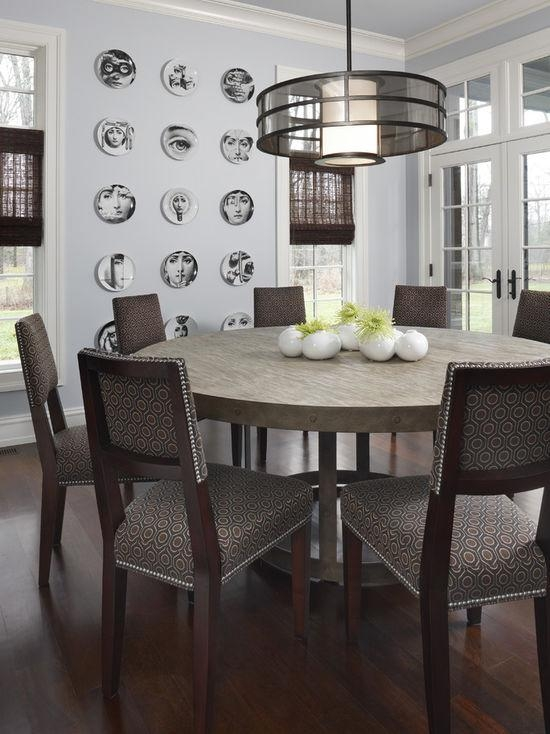 Unique Round Dining Table | Houzz Pertaining To Large Circular Dining Tables (Image 20 of 20)