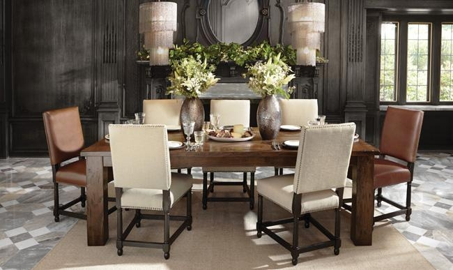 Unusual Dining Room Rio Table Arhaus Chairs | Hampedia Inside Rio Dining Tables (Image 19 of 20)