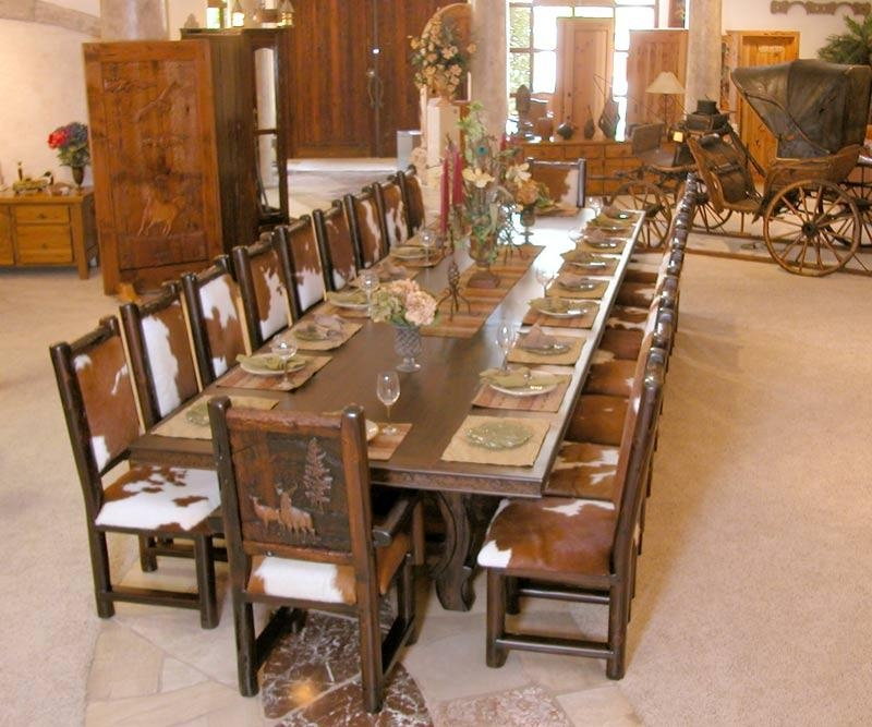 Unusual Ideas Design Big Dining Table | All Dining Room Within Big Dining Tables For Sale (Image 20 of 20)