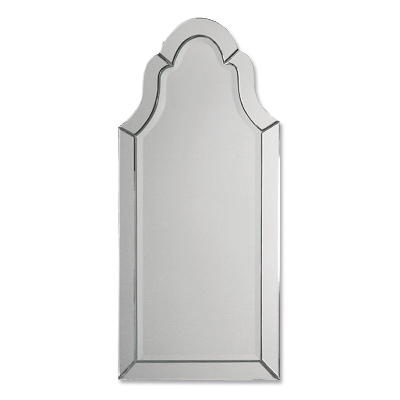 Uttermost 11912 B Hovan Frameless Arched Wall Mirror | Ebay For Frameless Arched Mirror (Photo 4 of 20)
