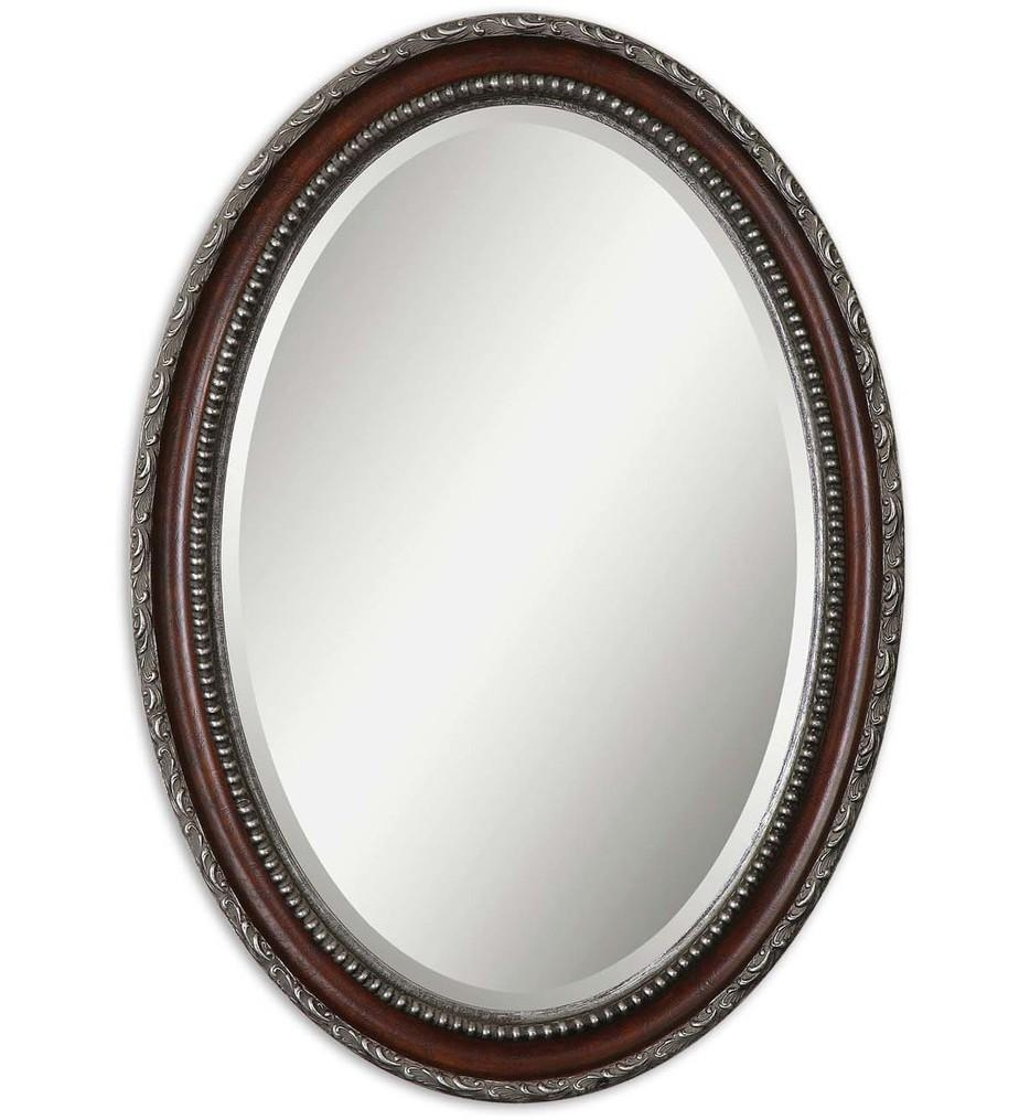 Uttermost – 14196 – Montrose Oval Silver Mirror | Lamps With Oval Silver Mirror (Photo 6 of 20)