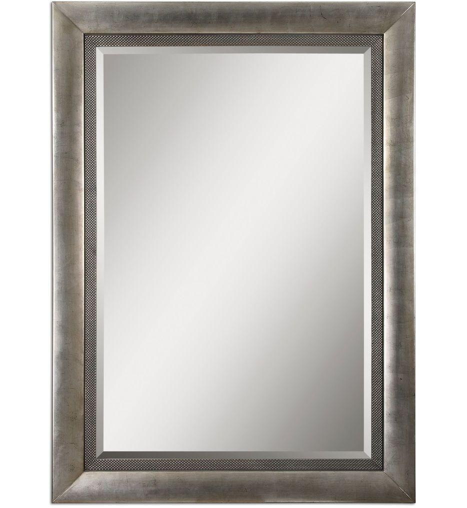 Uttermost – 14207 – Gilford Antique Silver Mirror | Lamps Within Antique Silver Mirror (Photo 2 of 20)