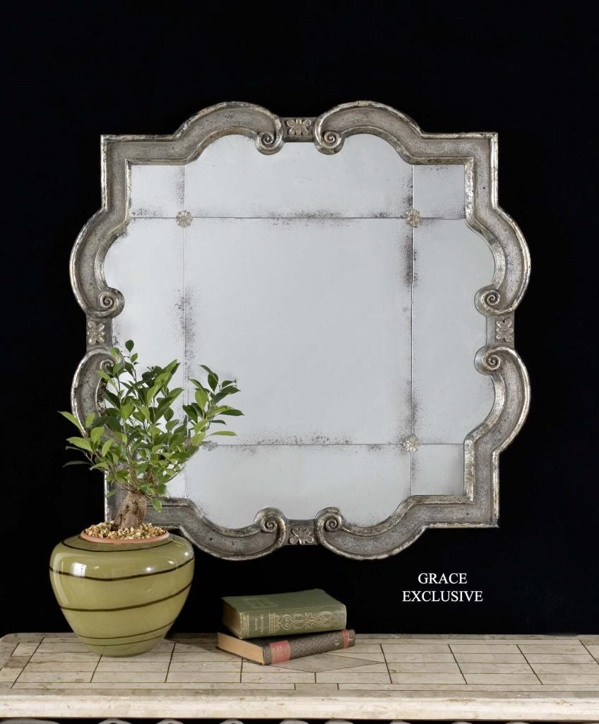 Featured Image of Distressed Silver Mirror