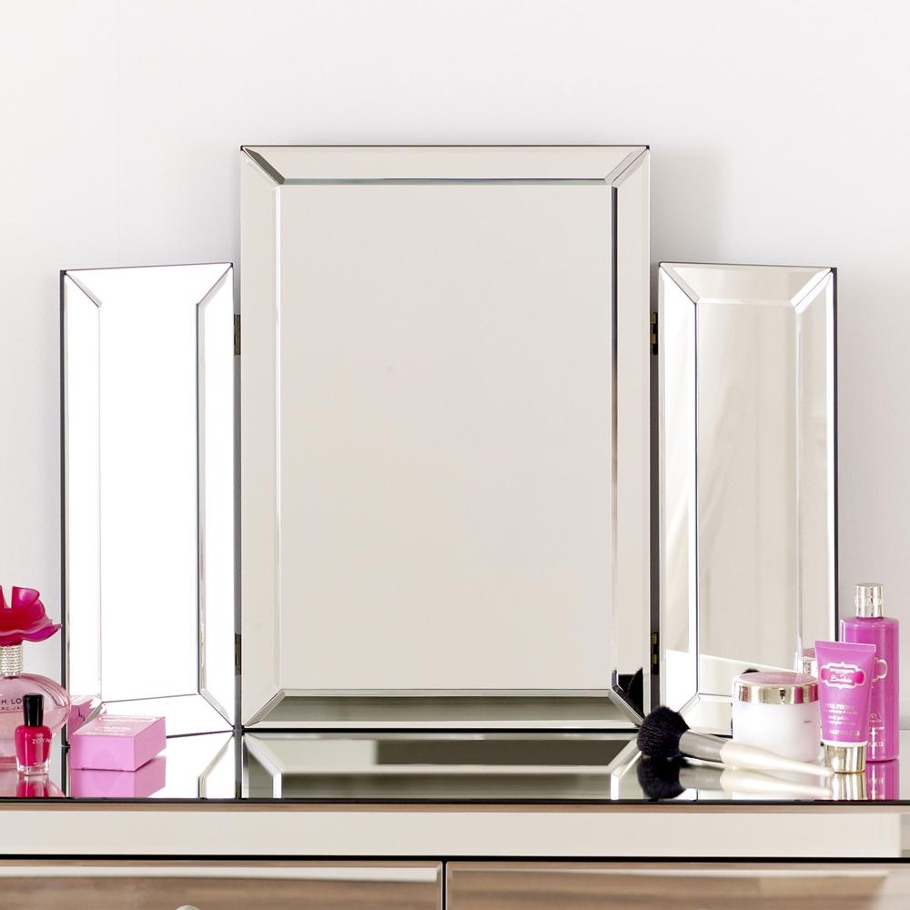 Venetian Dressing Table Mirror For Standing Table Mirror (Image 20 of 20)