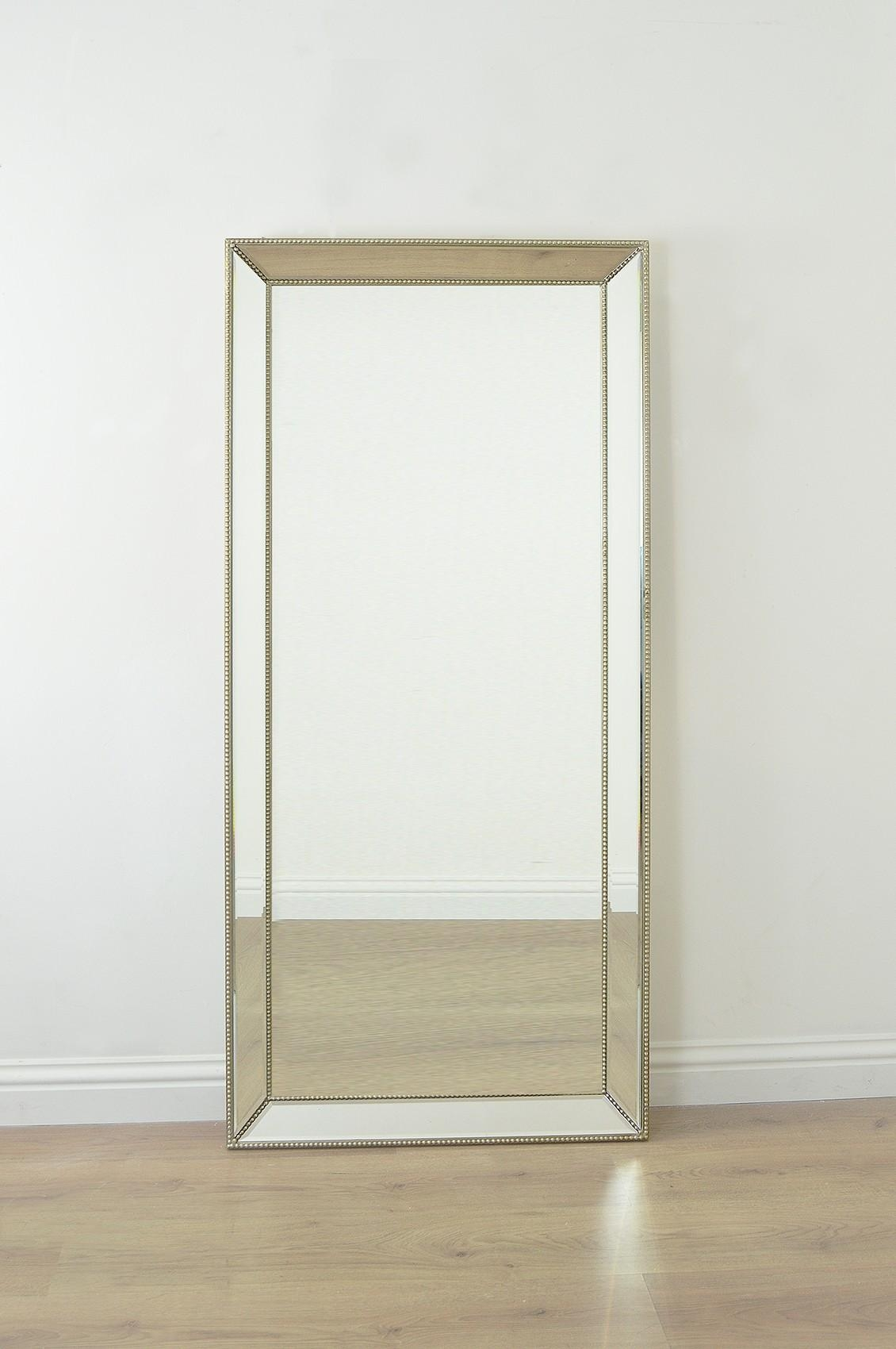 Venetian Frameless Floor Mirror | Vanity And Nightstand Decoration For Modern Venetian Mirror (View 9 of 20)