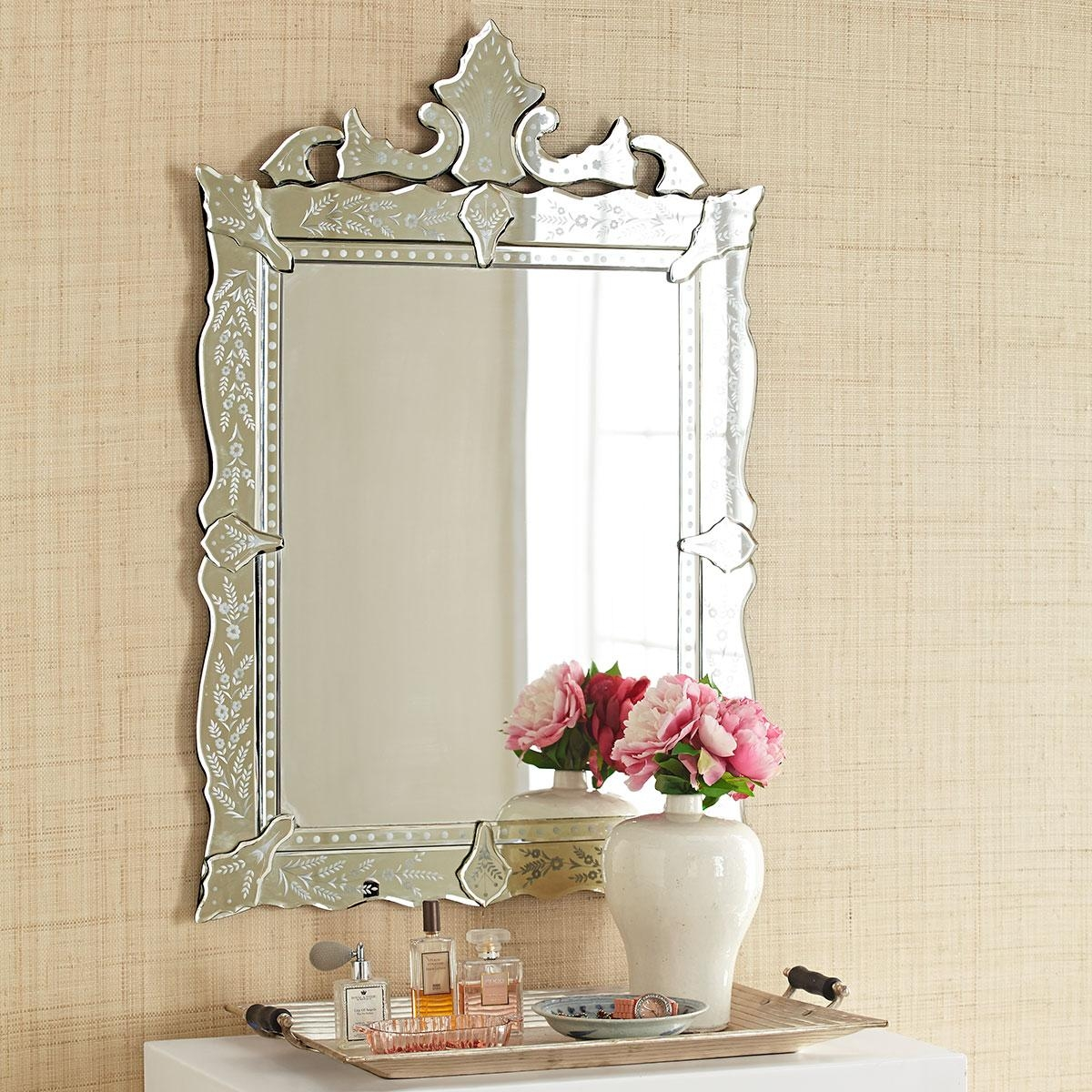 Venetian Mirror Intended For Venetian Style Wall Mirror (Photo 11 of 20)