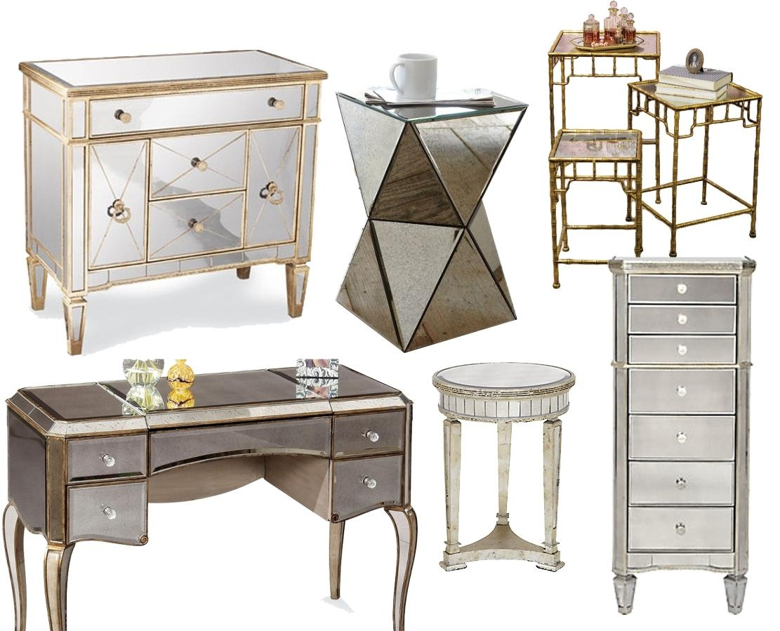 Venetian Mirrored Bedroom Furniture | Yunnafurnitures For Mirrored Furniture (Image 20 of 20)