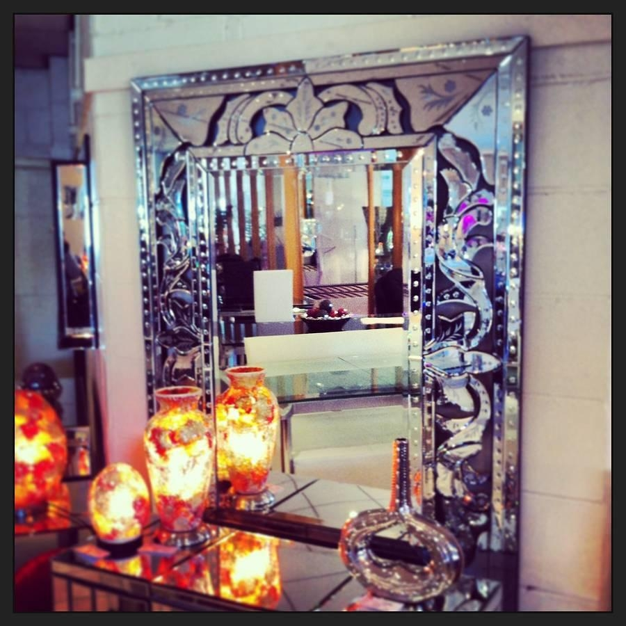 Venetian Style Wall Mirrormade With Love Designs Ltd Throughout Venetian Style Wall Mirror (Photo 1 of 20)
