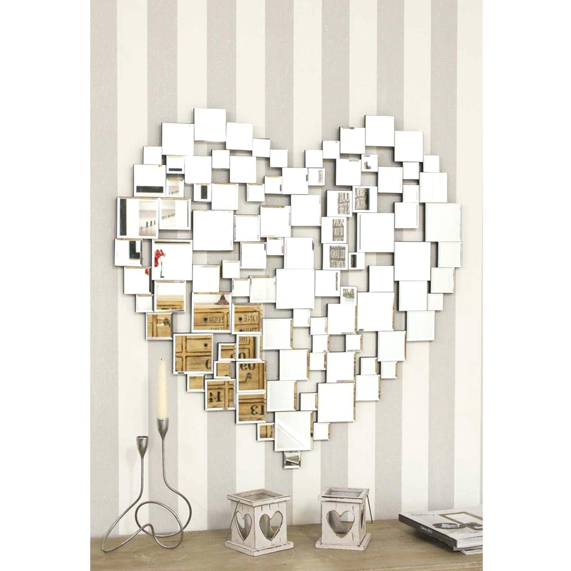 Venetian Wall Mirrors – Amlvideo Within Heart Shaped Mirror For Wall (View 10 of 20)