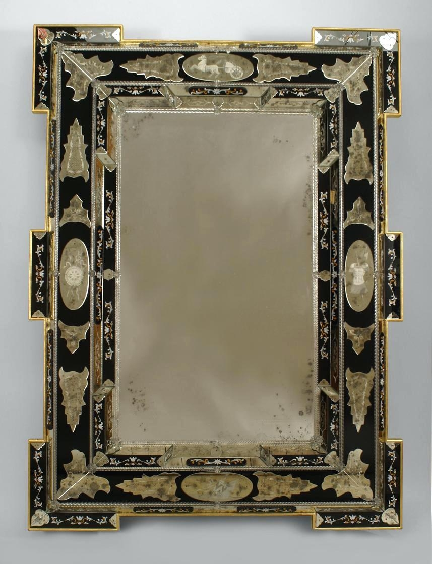 Venetian Wall Mirrors – Amlvideo Within Large Venetian Mirrors (Photo 4 of 20)