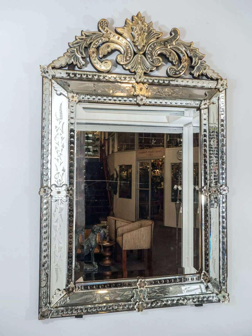 Venetian Wall Mirrors – Amlvideo Within Venetian Mirrors For Sale (View 10 of 20)