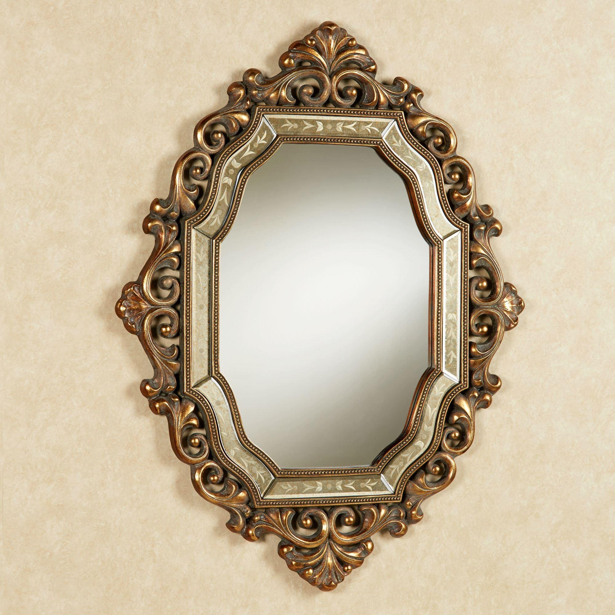 Verena Old World Wall Mirror For Antique Wall Mirror (Image 17 of 20)