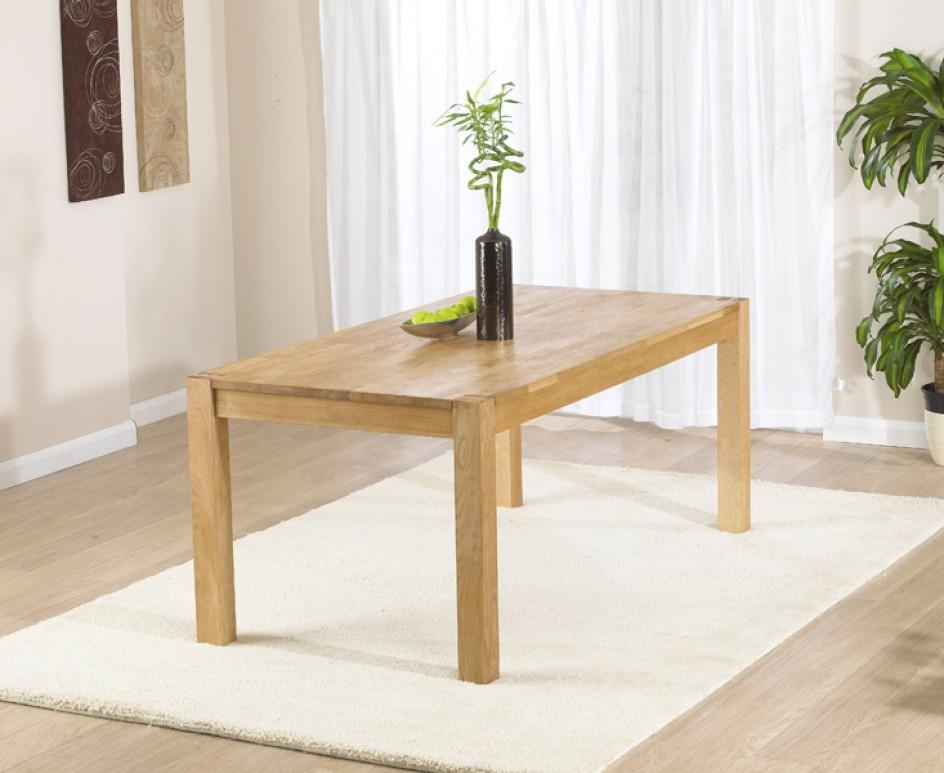 Verona 120Cm Oak Dining Table | The Great Furniture Trading Company For Verona Dining Tables (Image 12 of 20)