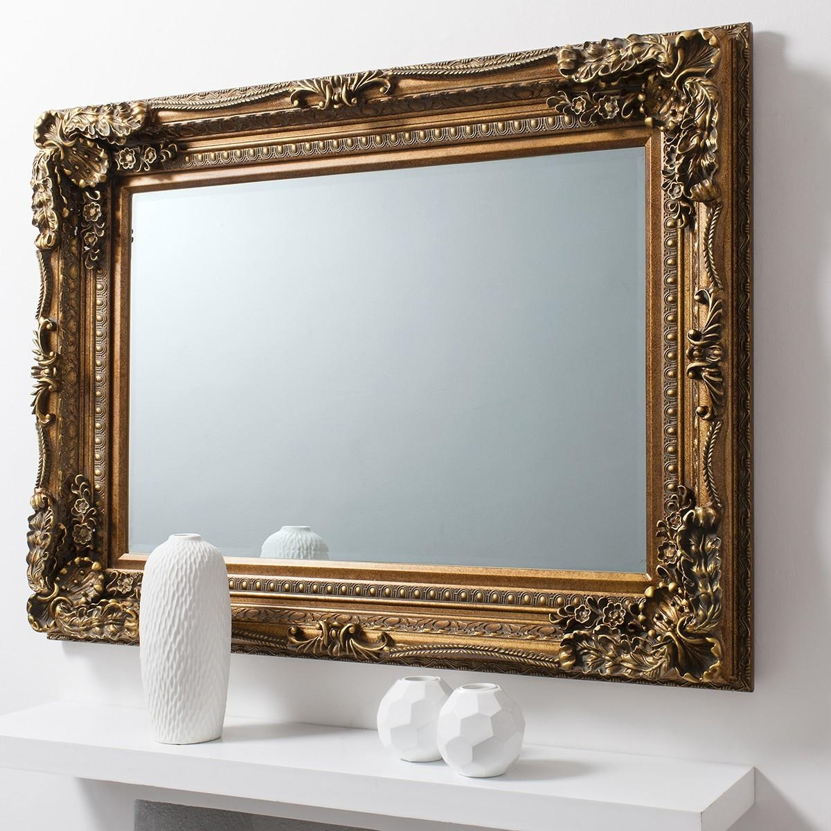 Versailles Baroque Mirror From £249 – Luxury Wall Mirrors | Ashden Pertaining To Baroque Mirror Gold (Photo 1 of 20)