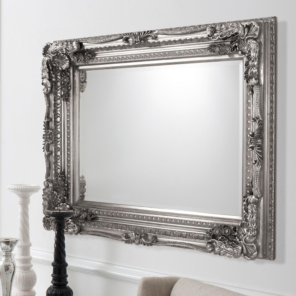 Featured Image of Baroque Mirror Silver