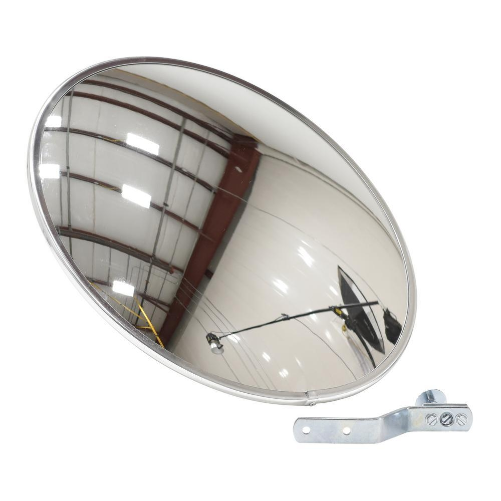 Vestil 18 In. Industrial Acrylic Convex Mirror Cnvx 18 – The Home Intended For Convex Mirror Buy (Photo 19 of 20)