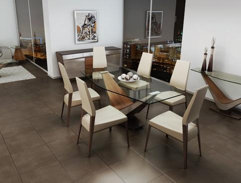 Victor Dining Table | 383 76 | Elite Modern Tables From Throughout Victor Dining Tables (Photo 8 of 20)