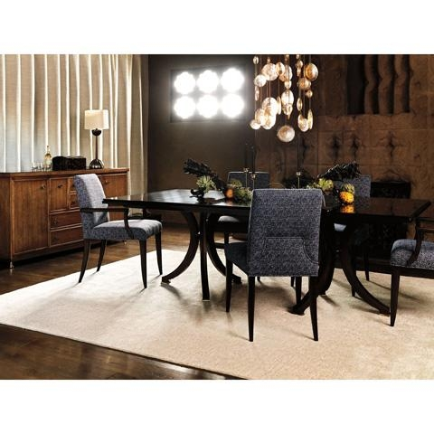 Vienna Double Pedestal Dining Table | 9136 | Baker Furniture Pertaining To Vienna Dining Tables (Image 14 of 20)