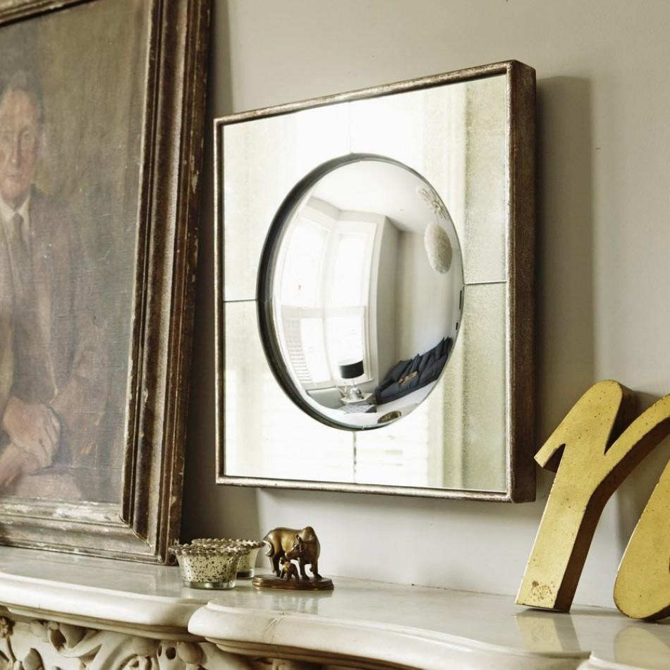 View All Mirrors | Mirrors | Graham & Green With Small Convex Mirrors For Sale (Image 20 of 20)
