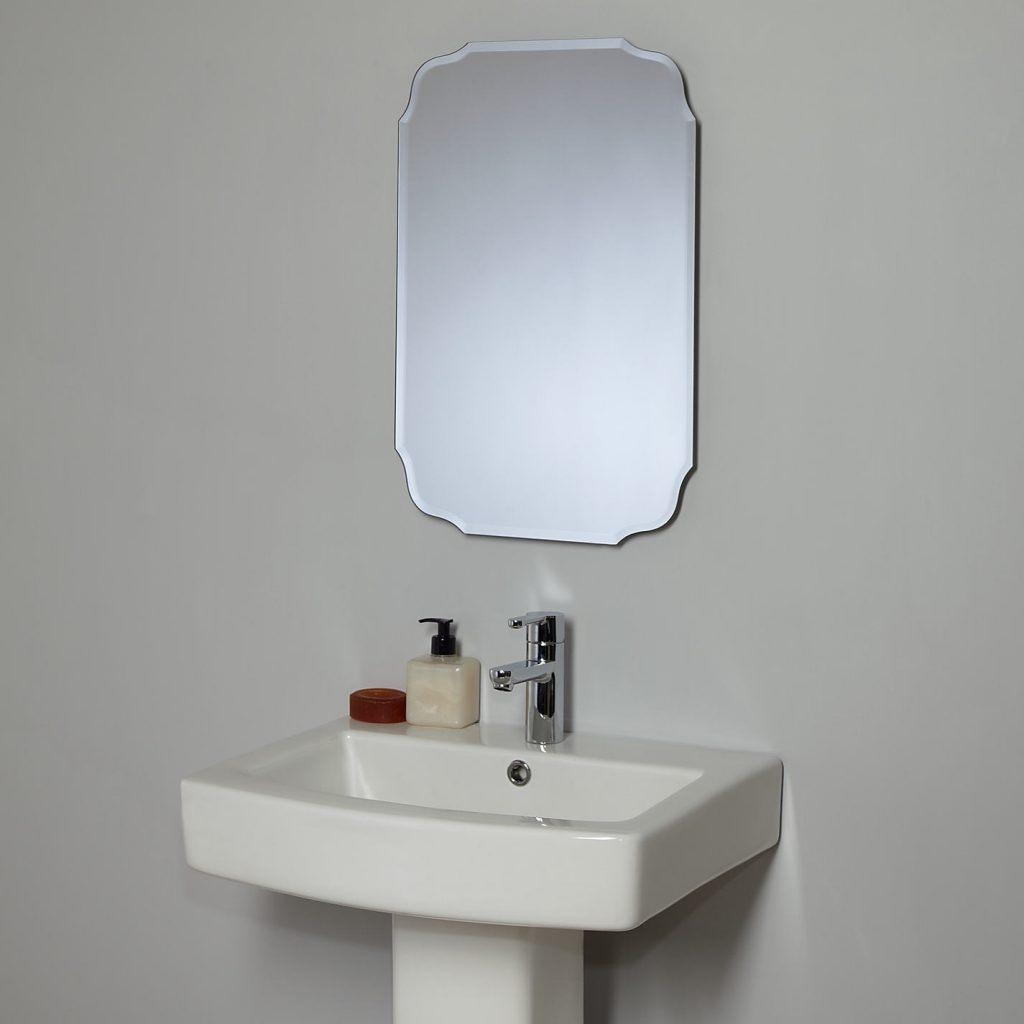 Vintage Bathroom Mirrors: Special Interior Needs Special Things With Retro Bathroom Mirror (Image 20 of 20)