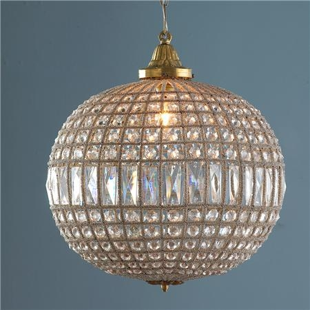 Vintage Crystal Ball Chandelier Similar Ball Chandeliers Thank Intended For Crystal Ball Chandeliers Lighting Fixtures (Image 25 of 25)