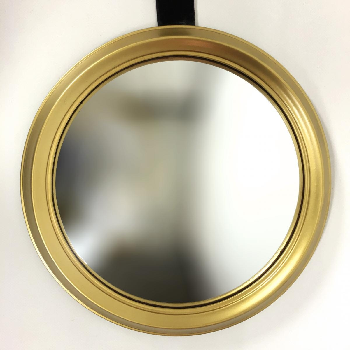 Vintage French Round Convex Mirrorartilux, 1960S For Sale At Intended For Round Convex Mirror (Image 18 of 20)
