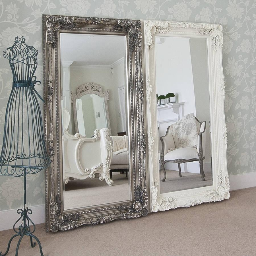 Vintage Full Size Mirror | Vanity Decoration With Regard To Vintage Floor Length Mirror (Photo 14 of 20)