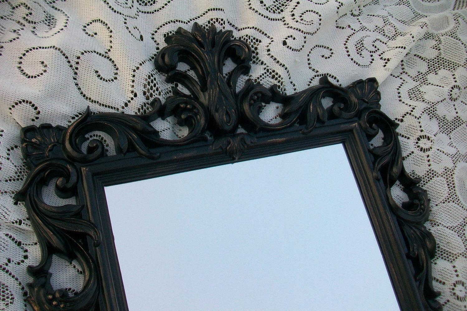 Vintage Mirror Black Images – Reverse Search In Large Black Vintage Mirror (Image 17 of 20)