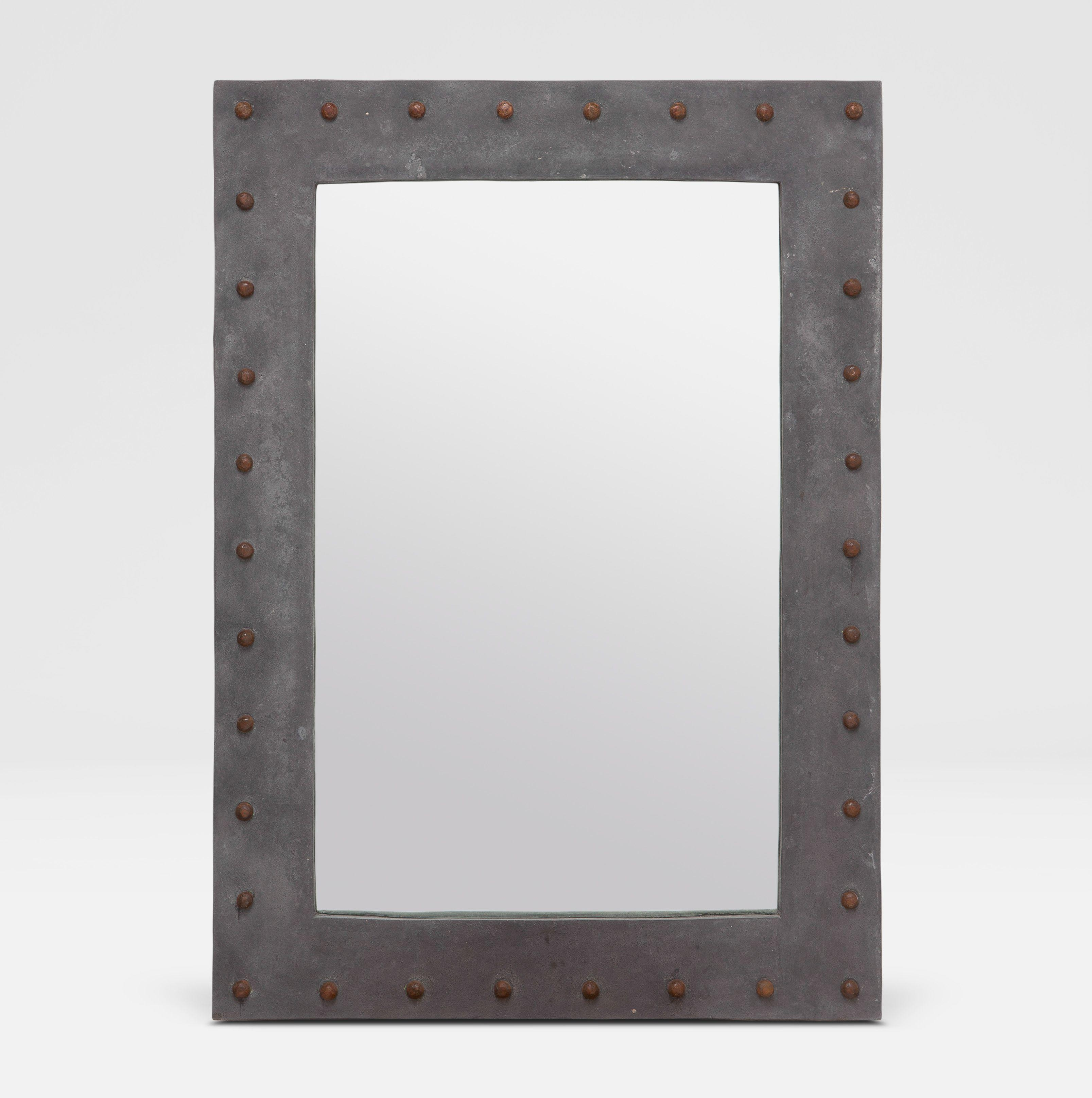 Vintage Mirrored Furniture – Antique Wall Décor – Mecox Gardens With Black Antique Mirror (Image 20 of 20)