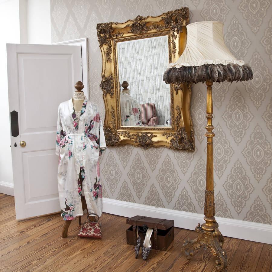 Vintage Ornate Gold Decorative Mirrordecorative Mirrors Online Throughout Ornate Gold Mirrors (Image 20 of 20)