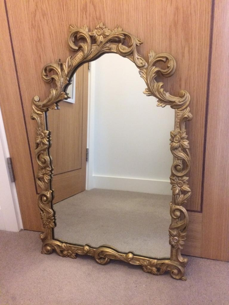 Vintage Ornate Mirror | In Kingston, London | Gumtree Regarding Vintage Ornate Mirror (Image 17 of 20)